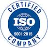 Logo ISIO, Zertifikat